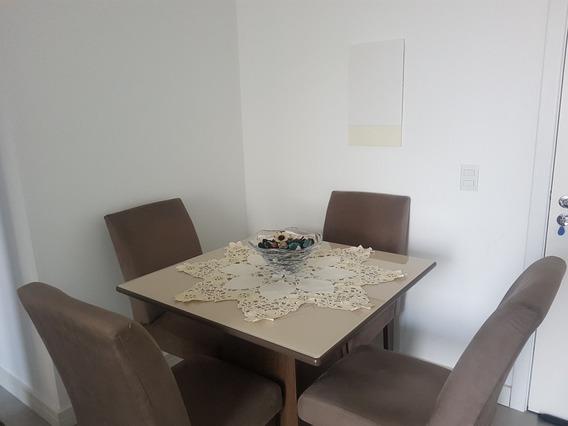 Conjunto Mesa De Jantar E 4 Cadeiras
