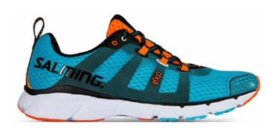 Zapatillas Salming Enroute Blue Running Hombre