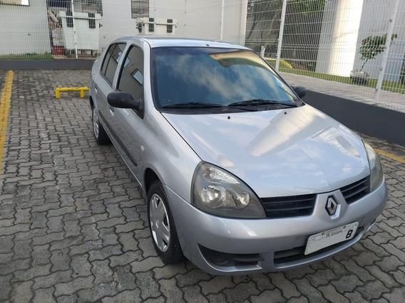 Renault Clio Sedan 2007 1.0 16v Authentique Hi-flex 4p