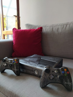 Xbox 360 Slim Rgh, Edición Limitada call Of Duty 3