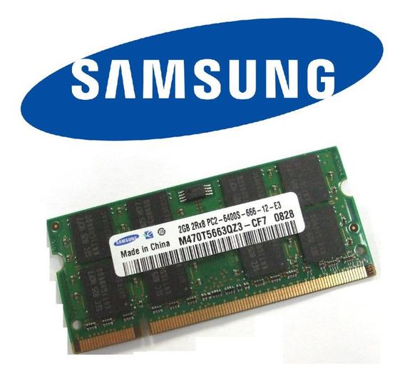 Memória Ddr2 2gb 800mhz Notebook Asus M51va