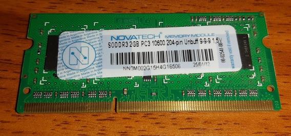Memoria Ram Notebook - Soddr3 2gb Pc3 10600