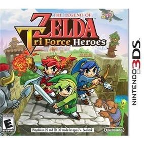 The Legend Of Zelda Tri Force Heroes Nintendo 3ds