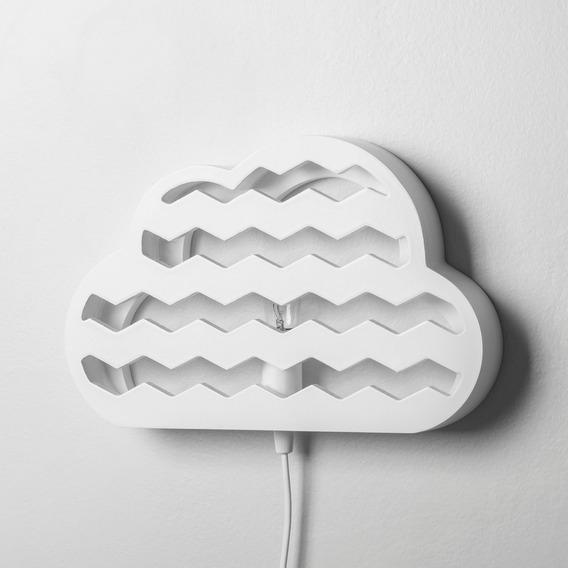 Arandela Nimbus Branca Nuvem