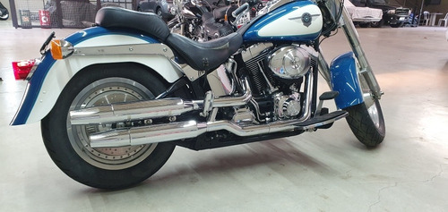 Harley Davidson Fat Boy 2001 Carburada