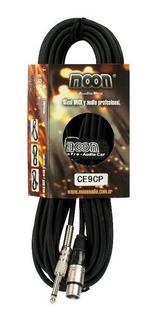 Cable Moon Conectores Canon Plug 9 Metros Ce9cp