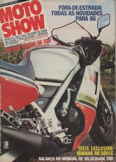 Motoshow N°35 Yamaha Rd 500lc Poster Suzuki Dr 600