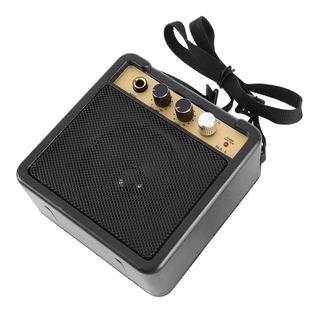 Portátil Mini Amplificador Guitarra Altavoz 5w