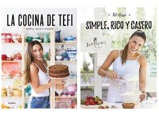 Pack Cocina De Tefi Russo + Simple, Rico Y Casero (2 Libros)