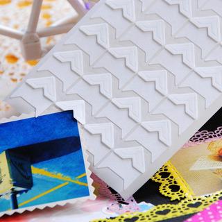 Stickers Papel Retro Para Álbuns Foto Quadro Cantos De Latic