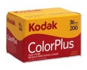 Filme Kodak 36 Iso 200