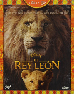 El Rey Leon 2019 Carlos Rivera Pelicula Blu-ray + Dvd