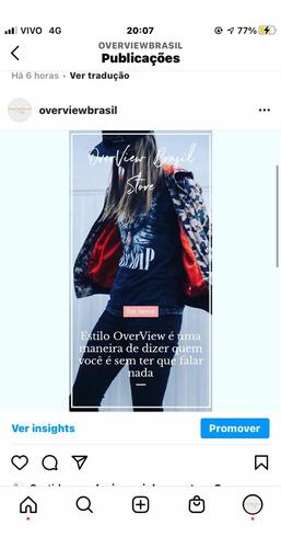 Loja On-line De Roupas - Instagram +10mil