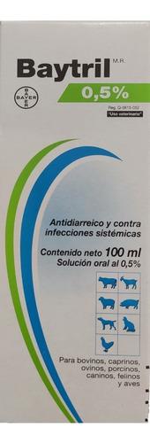 Baytril 0,5% Solución Oral 100 Ml Bayer