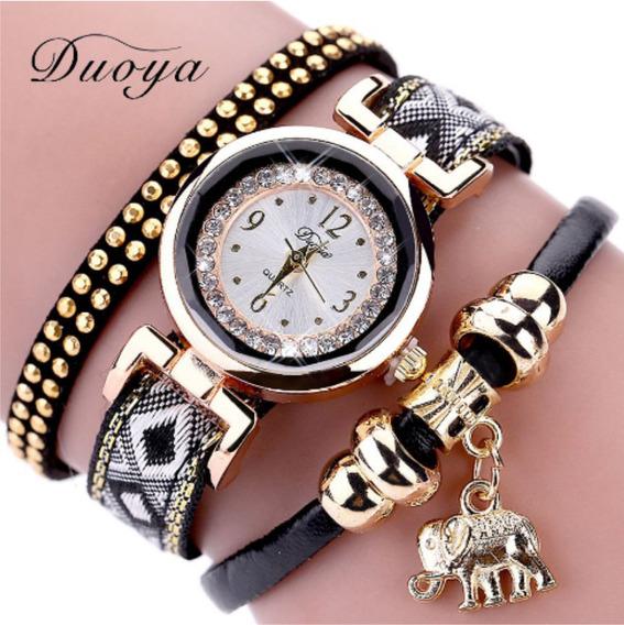 Relógio De Pulseira Feminino Elefante