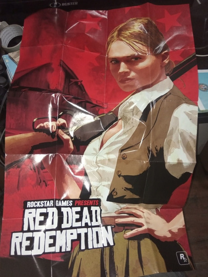 Mapa Red Dead Redemption Ps3