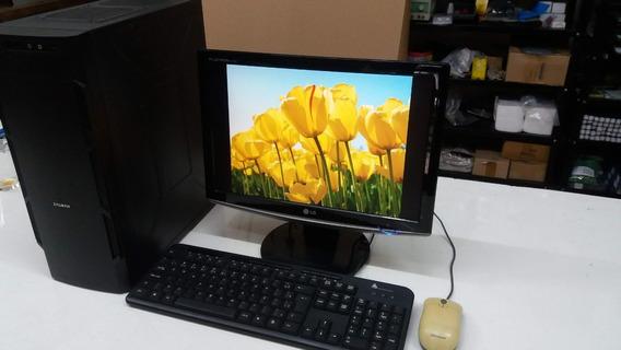 Computador Completo Cpu Mais Monitor