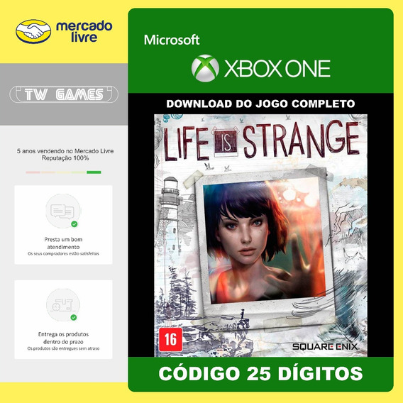 Life Is Strange Codigo 25 Digitos Original Xbox One