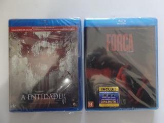 Kit Blu-ray A Entidade 2 + A Foca Novos Lacrados