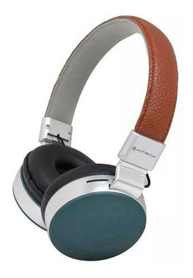 Fone De Ouvido Sem Fio On-ear Headphone Xtrax Urban Marrom