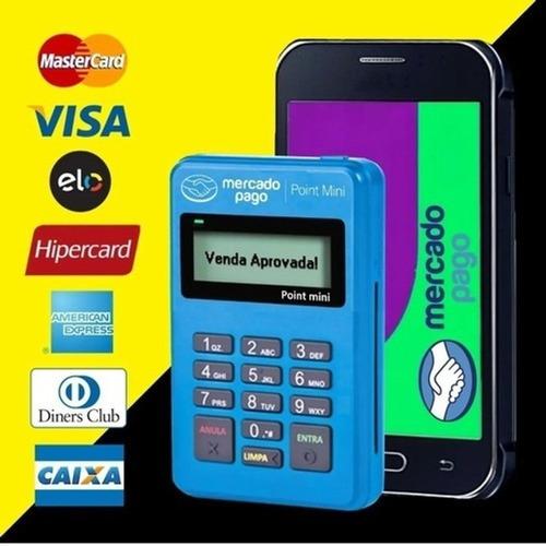 Imagem 1 de 5 de Maquininha Point Mini  A Máquina De Cartão Do Mercado Pago