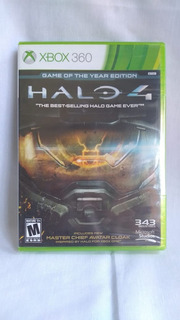 Halo 4: Game Of The Year Edition -nuevo Y Sellado - Xbox 360