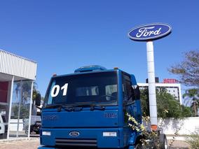 Ford Cargo 815 00/01 Azul 3/4 No Chassi Otimo Estado!