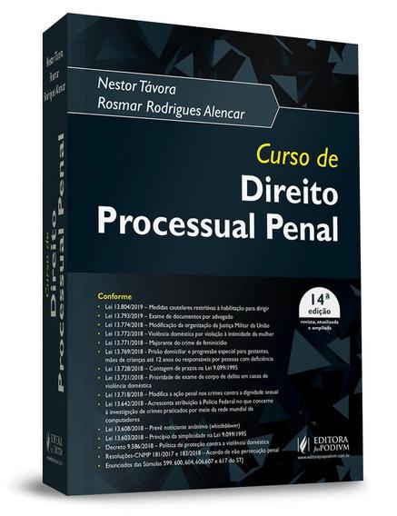 Curso De Direito Processual Penal 14ª Edição (2019)