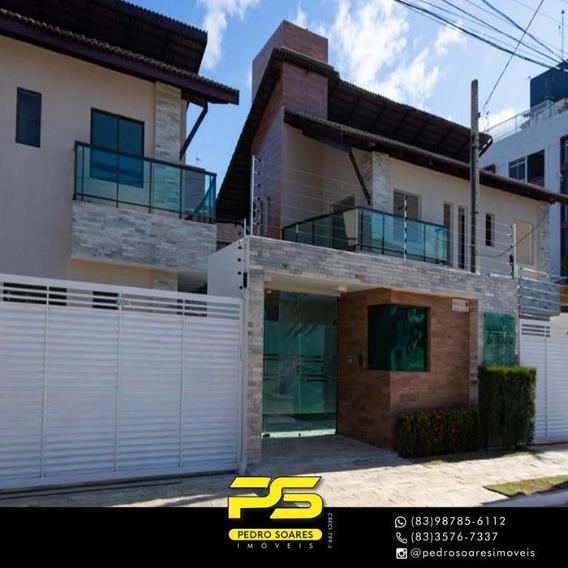 Casa Com 2 Dormitórios À Venda Por R$ 549.000 - Intermares - Cabedelo/pb - Ca0612