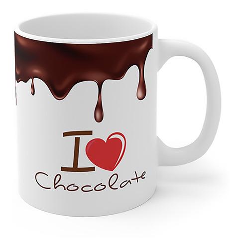 Imagem 1 de 4 de Caneca I Love Chocolate