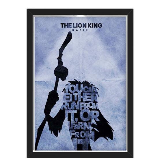 Quadro Caixa Lion King 02