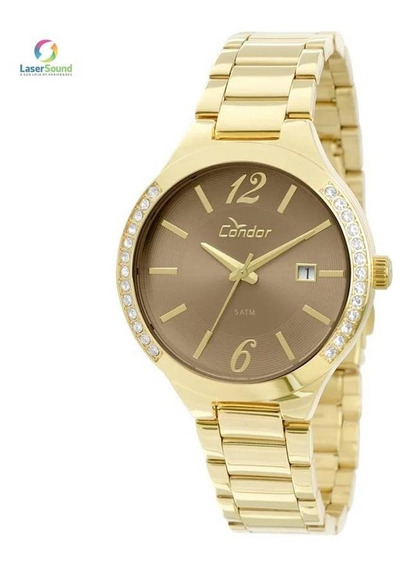 Relógio Condor Feminino - Co2115to/4c C/ Garantia E Nf