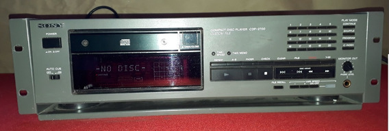 Sony Compact Disc Player Cdp-2700 Profissional