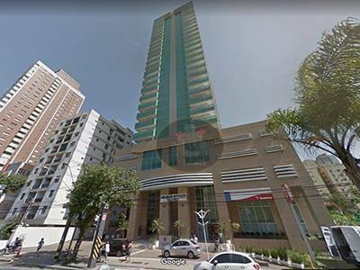 Sala À Venda, 44 M² Por R$ 340.000 - Boqueirão - Santos/sp - Sa0261