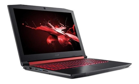 Notebook Gamer Acer Nitro 5 An515-52-72uu I7 16gb 128ssd Gtx