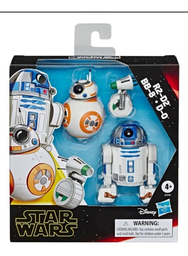 Set De Figuras R2-d2 , Bb-8 Y D-0 Star Wars - Hasbro