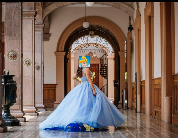 Vestido De Xv Princesa -cenicienta - Lupana Vilchez