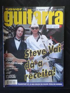 Revista Cover Guitarra Steve Vai Ano 4 Edição N ° 30