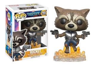Funko Pop 201 Rocket Guardians Of The Galaxy Vol. 2