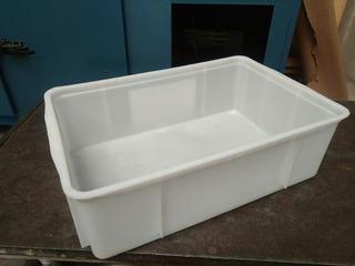 Cajón Plástico Apilable Ideal Pollo/carne/pescado(reforzado)