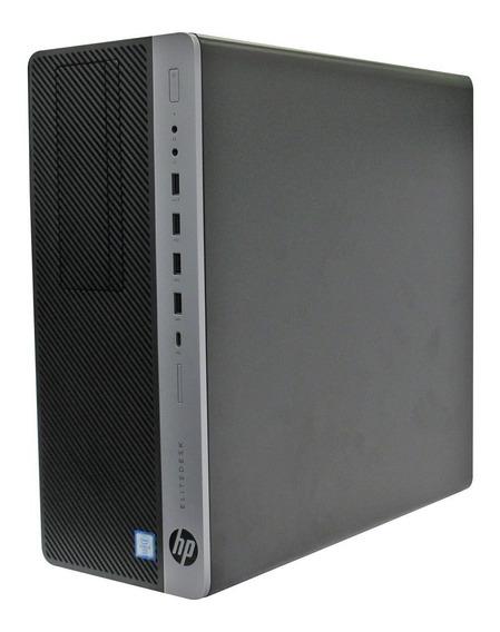 Computador Cpu Hp Elitedesk Core I5 6ger 4gb 500gb - Novo