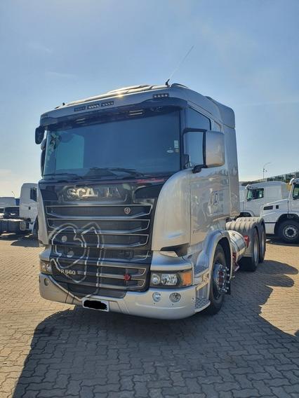 Scania R 560 6x4 Retarder Canelinha 2014 Aut / Financiamos