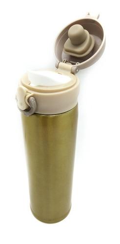 Botella Térmica De Acero 304 Hermético Anti Vuelco De 500 Ml