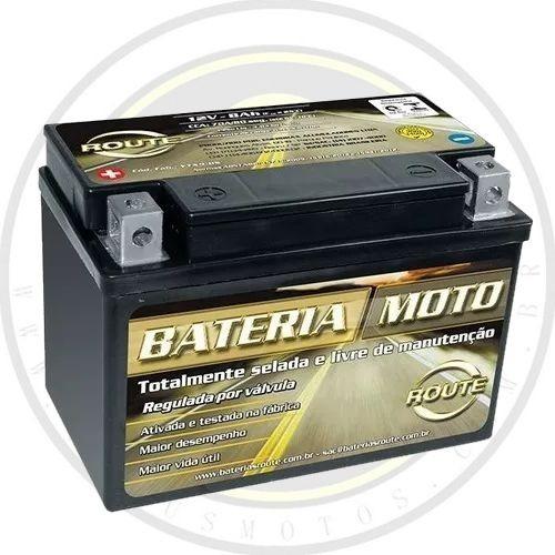Bateria Route 8ah Selada Ativada Dafra Kansas 150 Original 002871 Com Nota