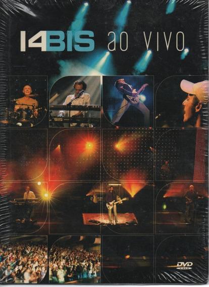 Dvd 14 Bis Ao Vivo Embal Digipack Feat Beto Guedes Lacrado