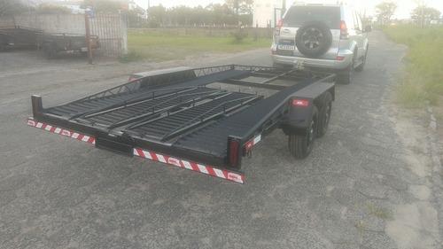 Reboque Plataforma Veículos 1500 Kg  2,00 X 4,00