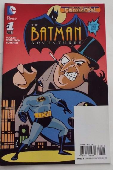 Batman Adventures Num 1 Halloween Comicfest Comic Dc