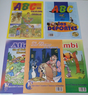 Cartillas Abc Y Cuentos Infantiles