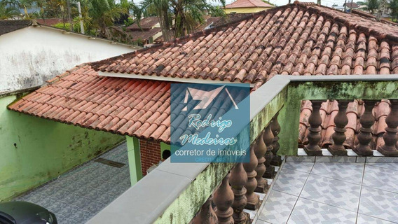 Casa Com 2 Dormitórios À Venda, 275 M² Por R$ 350.000 - Solemar - Praia Grande/sp - Ca0041