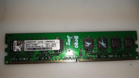 Memoria Ddr2- 1 Giga Kvr667d2n5/1g Kingston